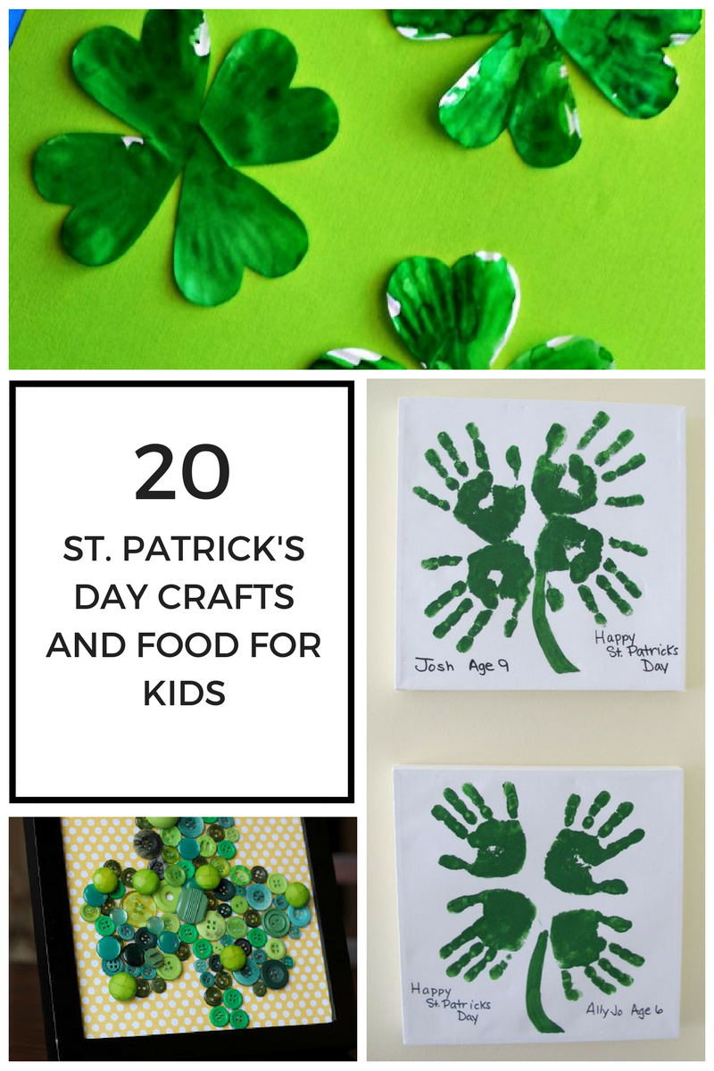 20 st patrick u0027s day crafts and food for kids zippadee zazz