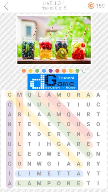 10x10 Crucipuzzle soluzione pacchetto 1 livelli (1-5)