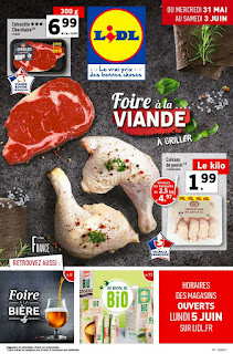 Catalogue lidl - 31 Mai au 06 Juin 2017