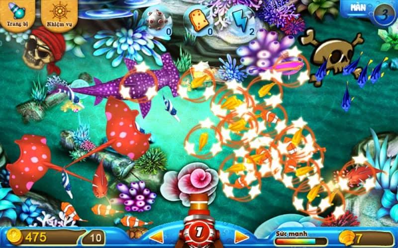 chơi game bắn cá ăn xu dành cho người mới chơi