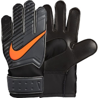 Nike Black Total Orange Gloves