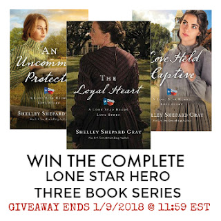 Lone Star Hero Book Series Giveaway