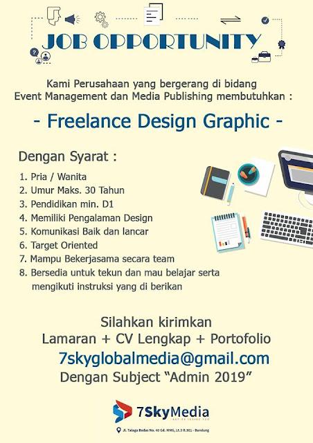 lowongan kerja freelance design graphic bandung