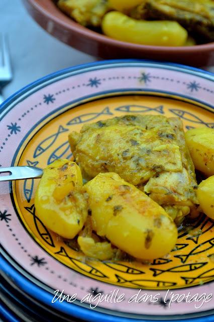 Poulet au citron (recette algérienne)