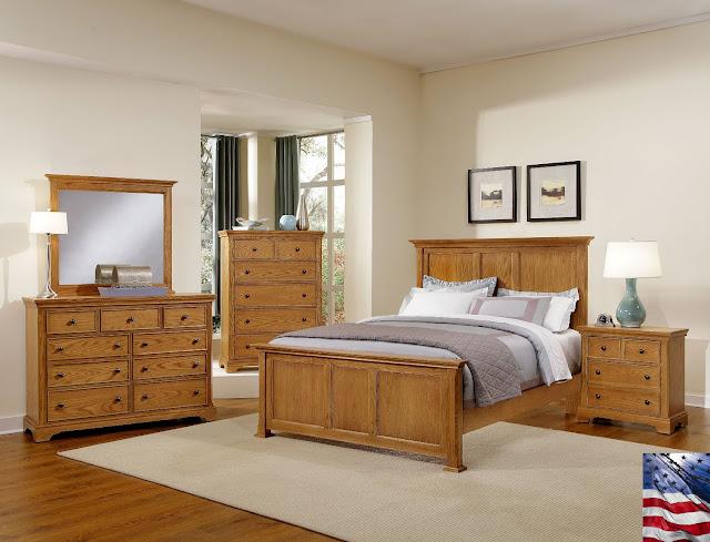 Light Wood Bedroom Furniture - 5 Small Interior Ideas