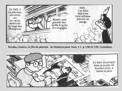 Tezuka, Osamu. Le fils du parrain. In Histoires pour tous, t.1. p 126 © Delcourt