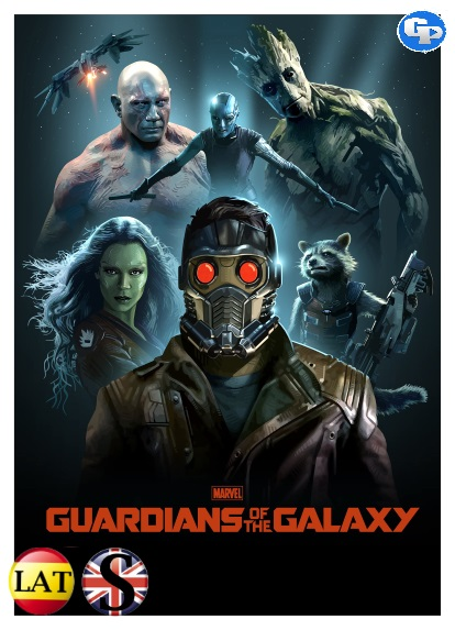 Guardianes de la Galaxia (2014) DVD5 LATINO/INGLES