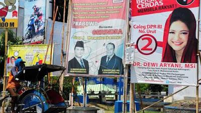 KPU Melarang Pasang Tokoh Nasional di Alat Peraga Kampanye