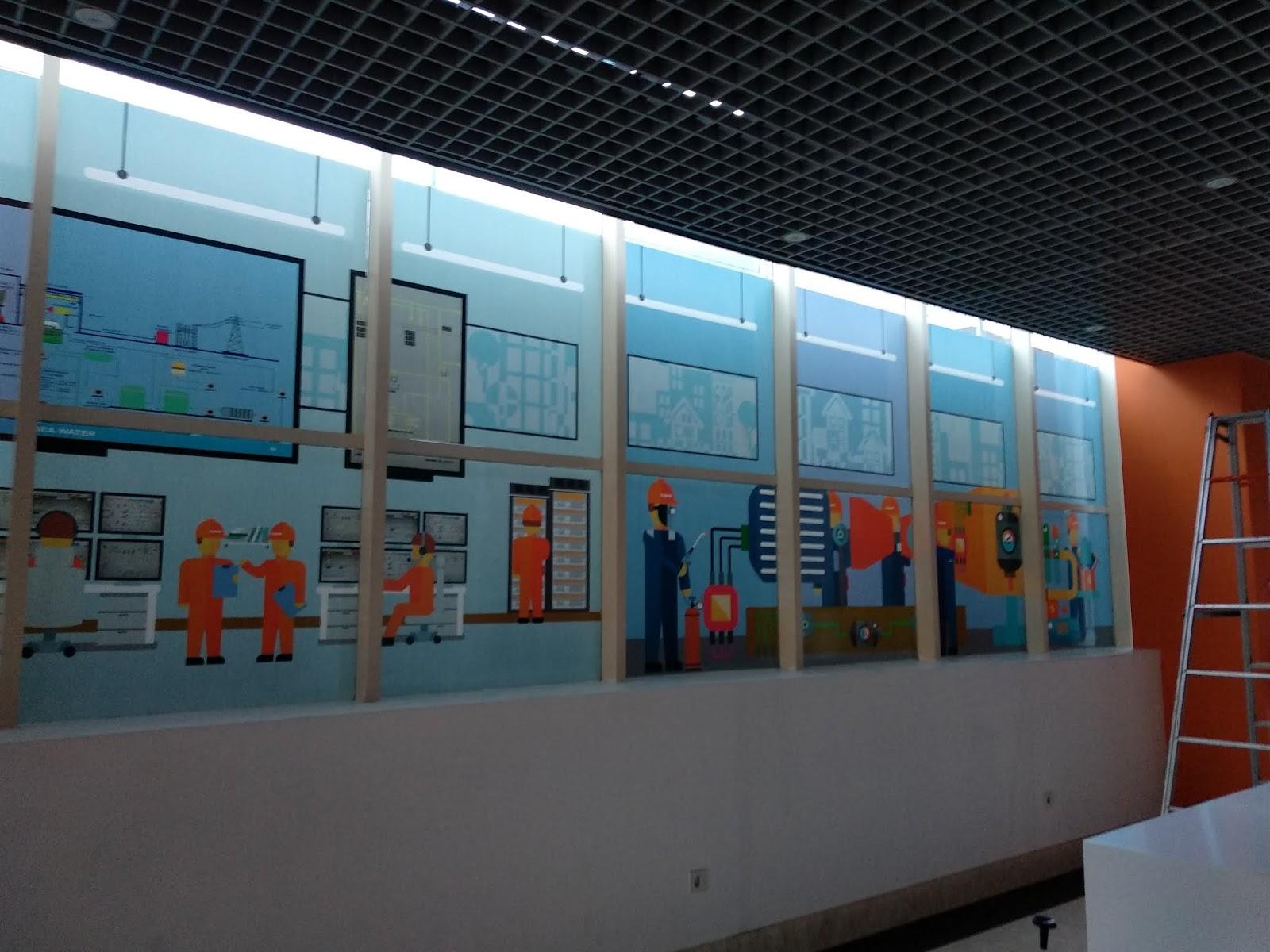 WALLPAPER KANTOR DEPOK Wallpaper Dinding Kantor