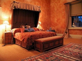 bedroom is suitable for you has a romantic and comfortable design lighting in the so elegant fascinating r