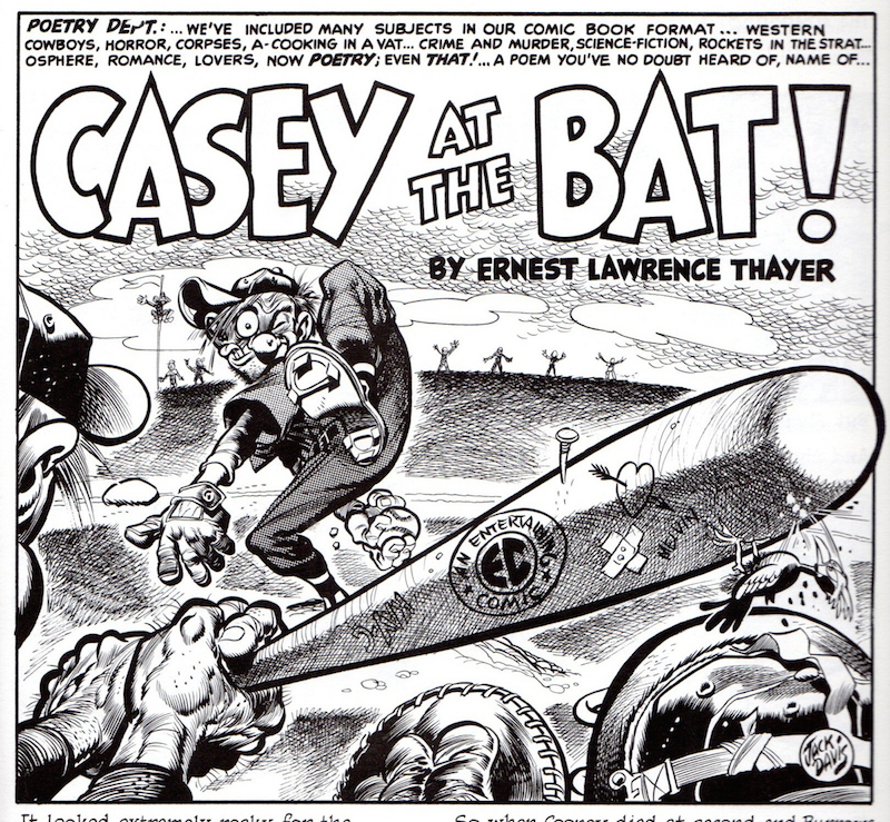 MAD #6: Casey at the Bat, by Jack Davis.