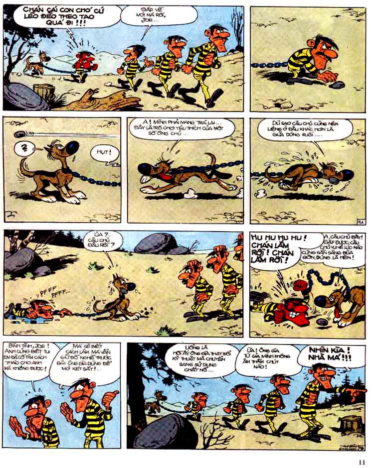 Lucky Luke tap 15 - ma dalton trang 12