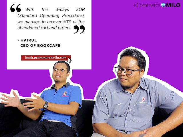 Arief & Hairul, Founder & CEO of Bookcafe