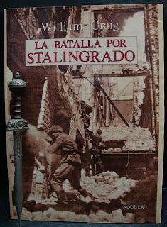 Portada del libro La batalla por Stalingrado, de William Craig
