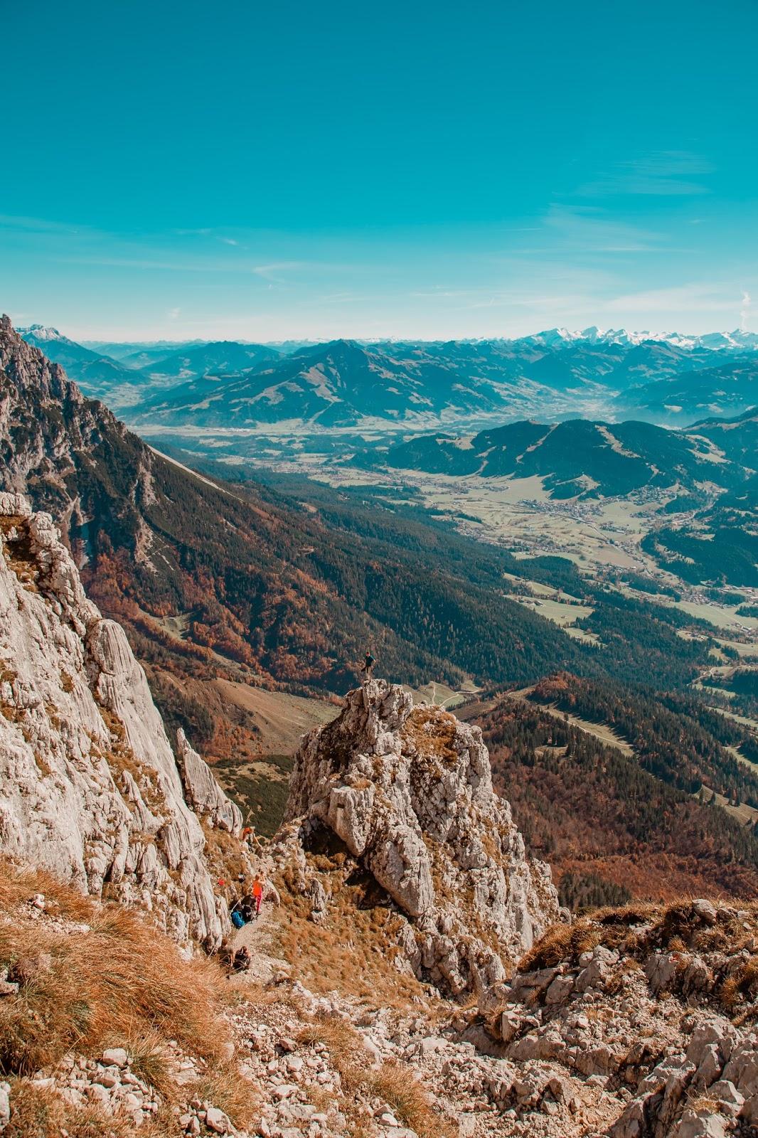 Bergtour Scheffauer  Wandern Wilder Kaiser  leichter Gipfel im Wilden Kaiser  Wandern-Tirol 06