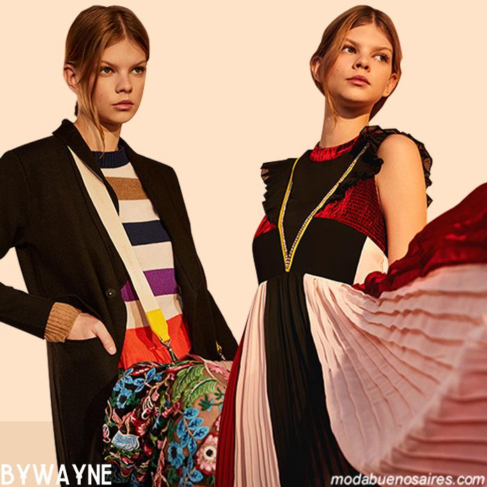 Otoño invierno 2019 moda. Moda otoño invierno 2019 mujer. Vestidos, blusa y pantalones otoño invierno 2019.