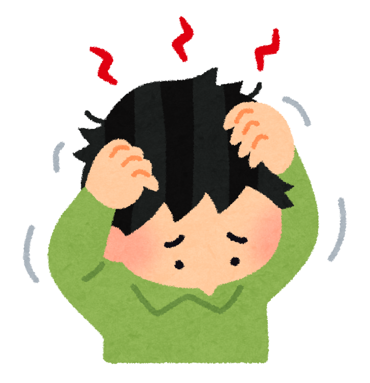 頭をかく癖がある人の心理|ストレス/男女別/子供/年齢別