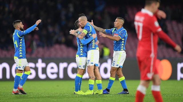 Hasil Liga Champions: Atasi Red Star, Napoli Puncaki Grup C