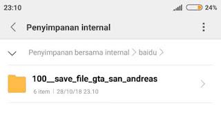 baca terus artikel ini nanti saya kasih kok Save Data Cheat GTA San Andreas Android TAMAT
