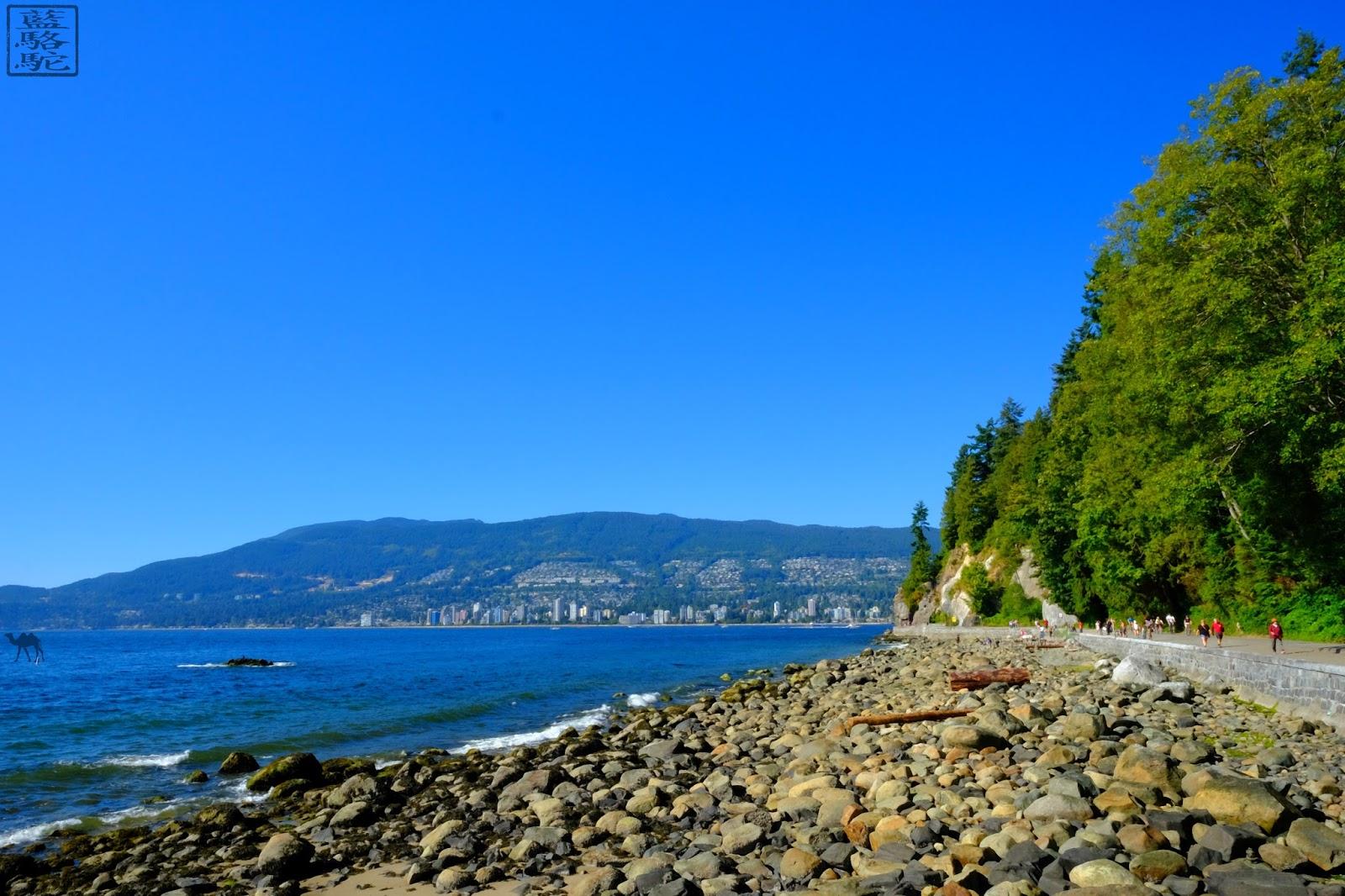 Le Chameau Bleu - Balade  de  Stanley Park - Vancouver