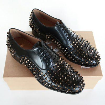 christian louboutin bruno spikes shoes