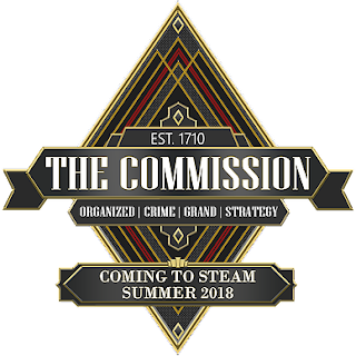 The Commission: Organized Crime Grand Strategy - Logo - Coming to Steam