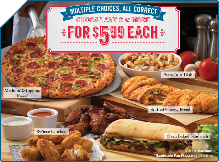 Check out our 2 Dominos promo codes including 2 coupon codes. Most popular now: Dominos Coupon: Carryout Large 3-Topping Pizza for Only $ Latest offer: Dominos Coupon: 2 for $ Each on Select Mix & Match Items.