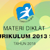 Materi Diklat Kurikulum 2013 SD/MI Tahun 2018