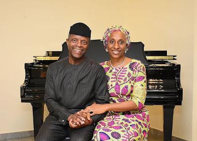 Osinbajo 1 - 9JA NEWS: Yemi Osinbajo & wife Dolapo celebrate 28th Wedding anniversary