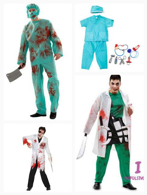 disfraz cirujano asesino