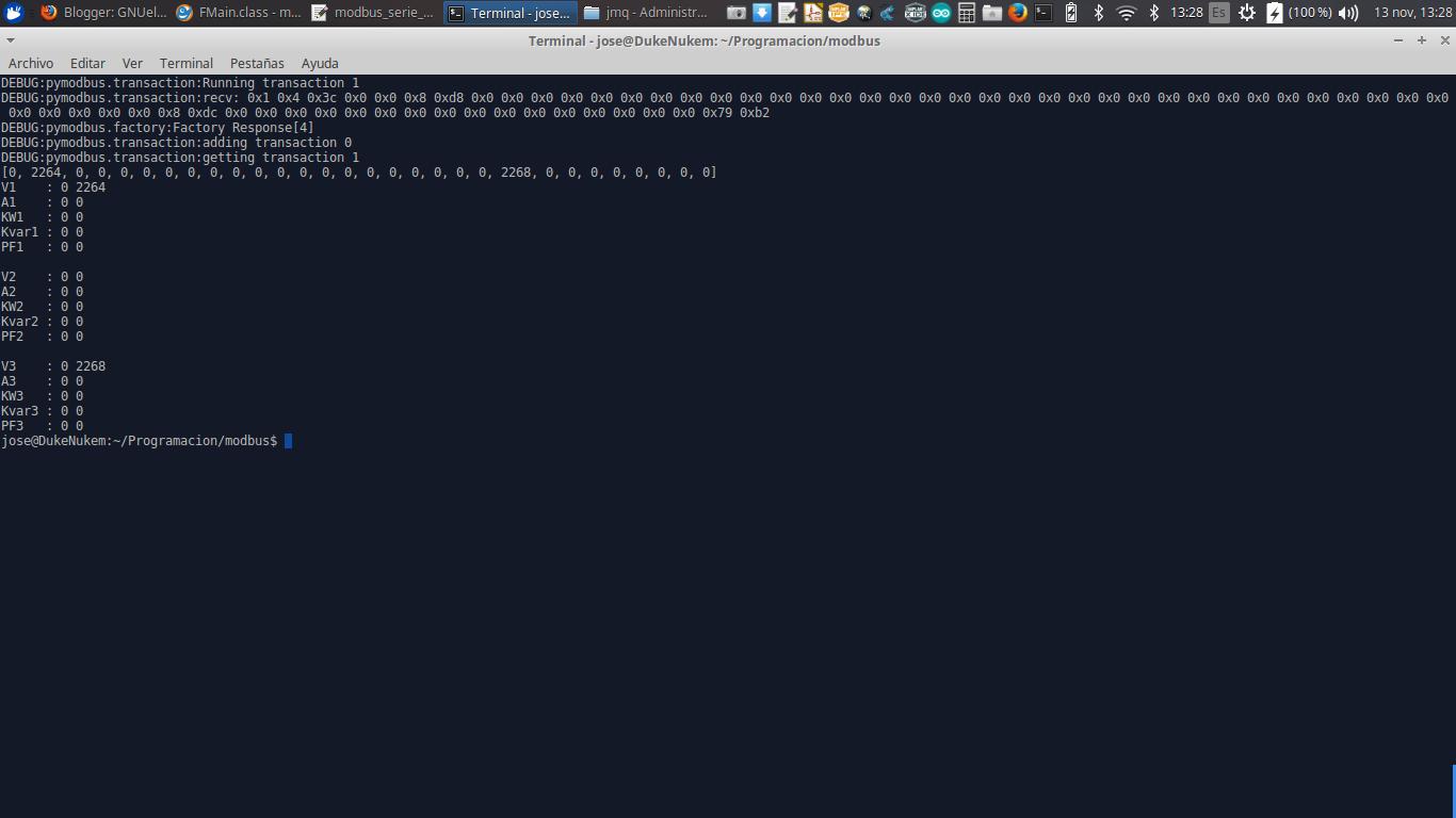 GNUelectronica: CVM 96 Python MODBUS