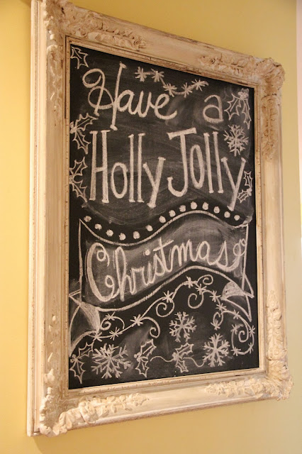 Priscillas Christmas Chalkboards And The Pioneer Woman