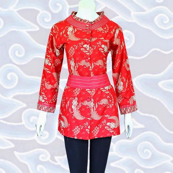 Model Baju Batik Wanita 2015: MODEL BAJU BATIK WANITA MODERN TERBARU 2015