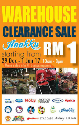 Anakku Warehouse Clearance Sale 2016 2017