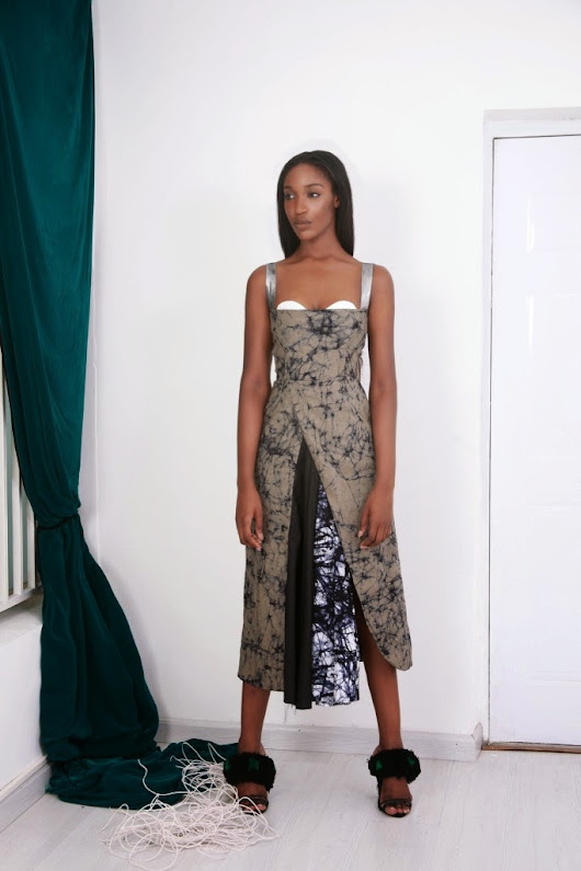 Solange stunning in Maki Oh!