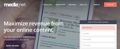 Media.net Alternatif AdSense Terbaik Untuk Blogger