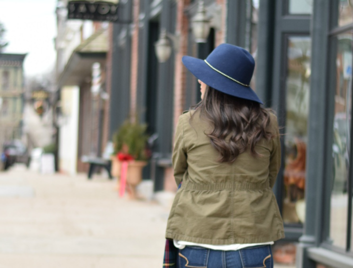 Affordable Fashion for Teachers: Target Fedora