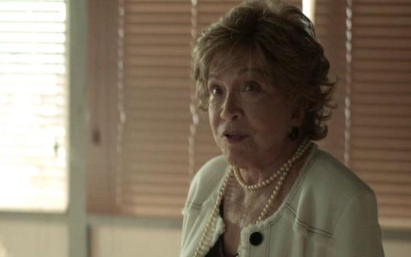 Gladys avisa que Maria da Paz está grávida (Imagem: Reprodução/TV Globo)