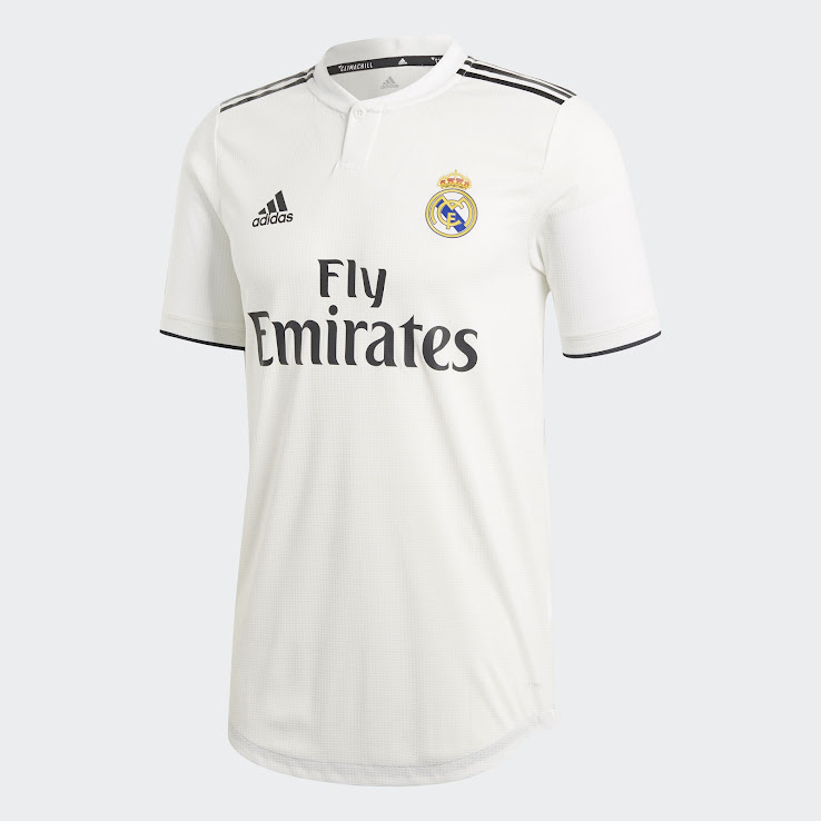 big sale 9cf83 1df3c Adidas Real Madrid 18-19 Home & Away Kits Released + Third ...