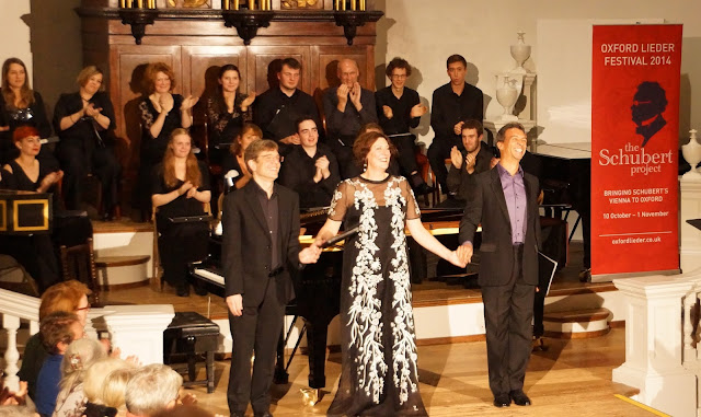 Eugene Asti, Sarah Connolly, Roderick Williams & Ensemble at the Oxford Lieder Festival's Schubert Project in 2014