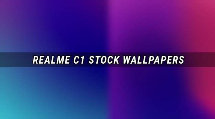 Download Wallpapers Oppo Realme C1 Stock Full HD