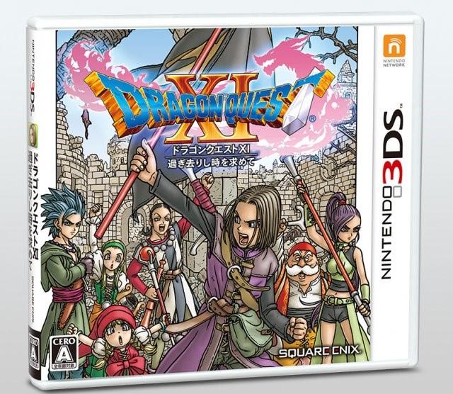 Dragon Quest XI: Sugisarishi Toki o Motomete   Cias para 3DS