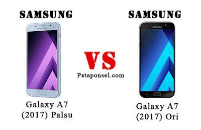 Cara Cek Samsung A7 (2017) Asli dan Palsu, KW