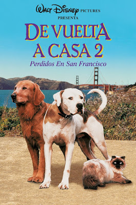Homeward Bound II Lost in San Francisco 1996 DVDR NTSC Latino