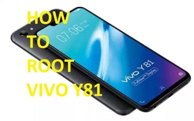 Cara Root Vivo Y81 Dengan PC