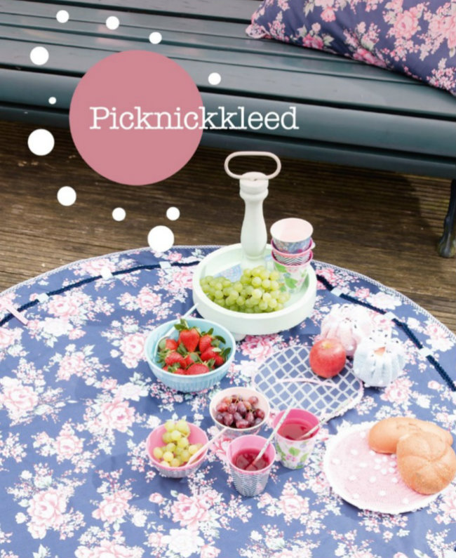 Gehaakt picknick kleed. Haakspiratie, Jip by Jan | Happy in Red