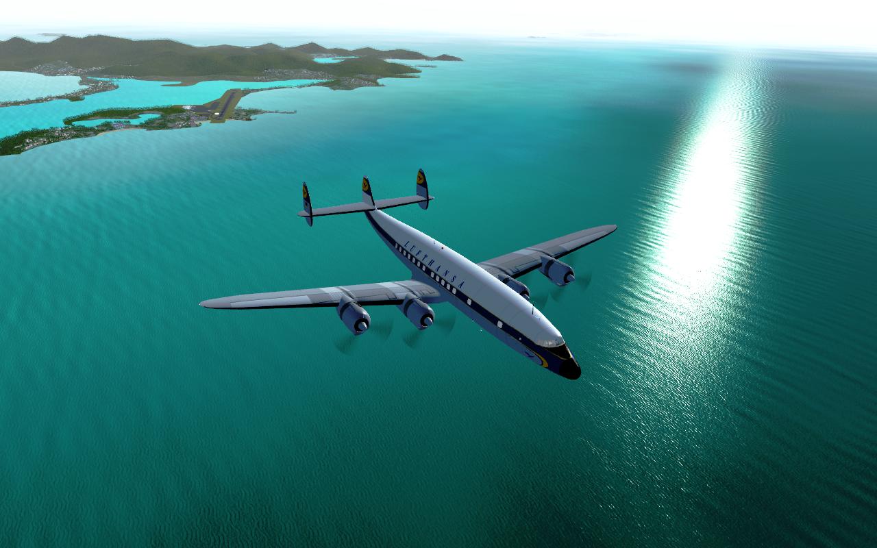 FlightGear, Flight Simulator For Linux Mint / Ubuntu Derivative