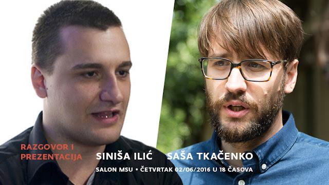 Razgovori: Siniša Ilić i Saša Tkačenko