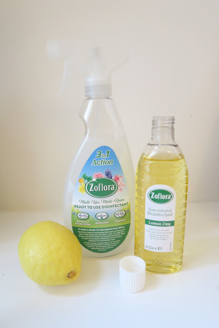 Lemon zing Zoflora and trigger bottle