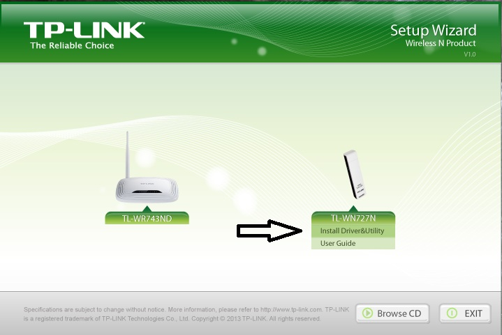 Download tp-link tl-wn727n wireless adapter driver 4. 1.